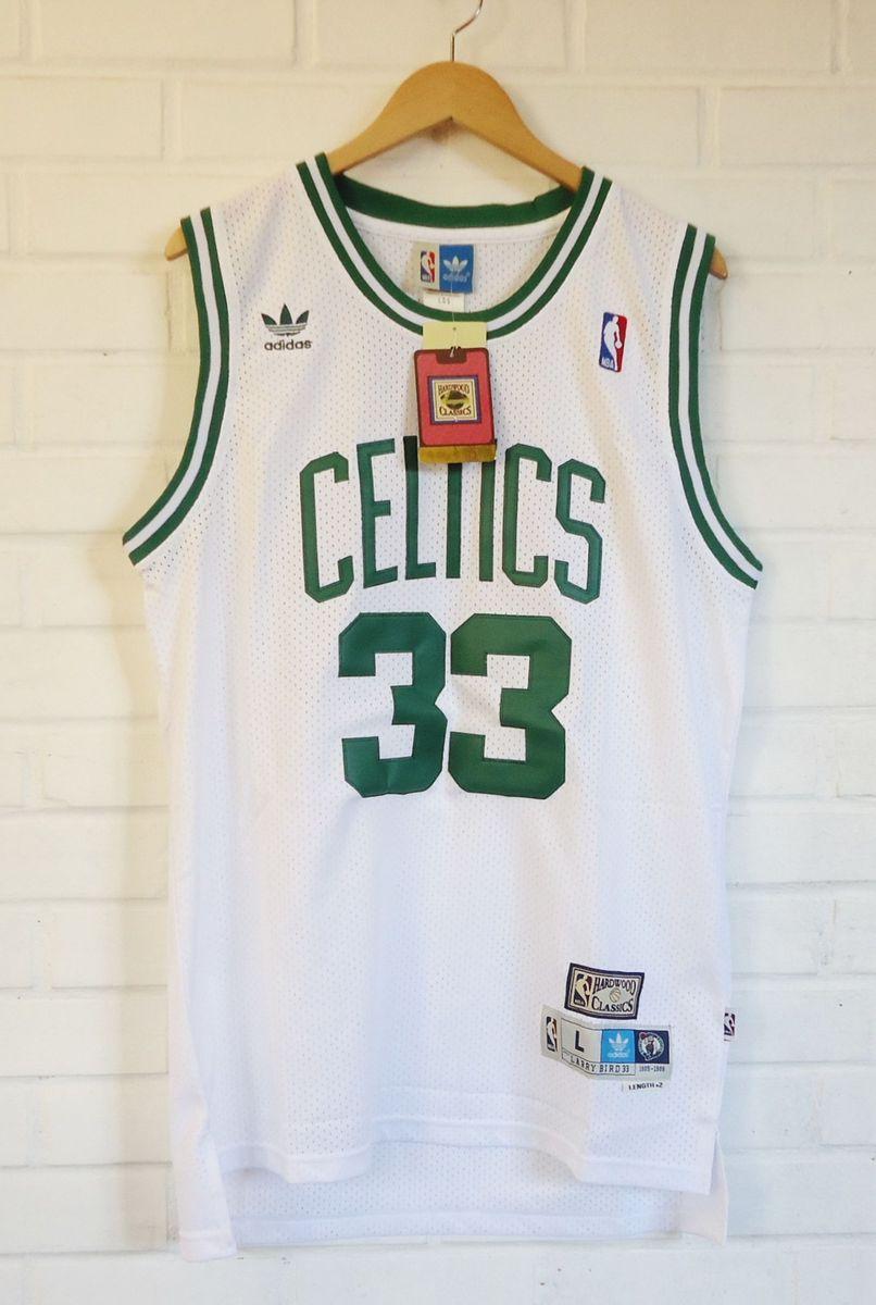 54c17d538 camisa de basquete nba celtics bird  33 - camisetas adidas