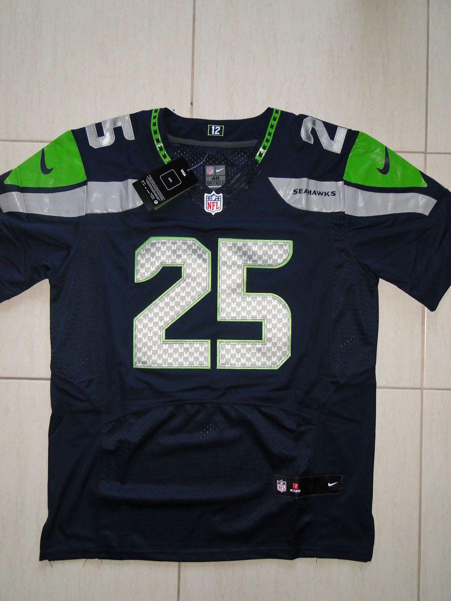 3c4a53fd7070b camisa de futebol americano nfl richard sherman seattle seahawks - esportes  nike