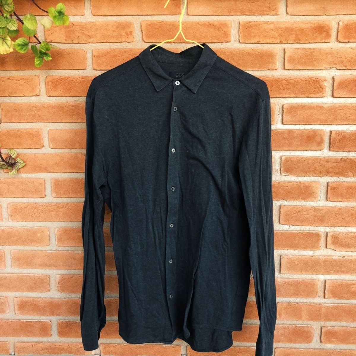 camisa de malha - camisas cos