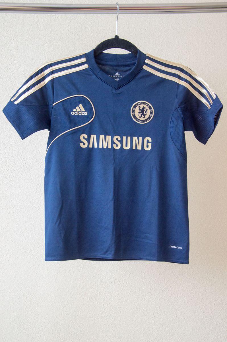camisa de treino infantil chelsea - menino adidas 10e615d71f42c