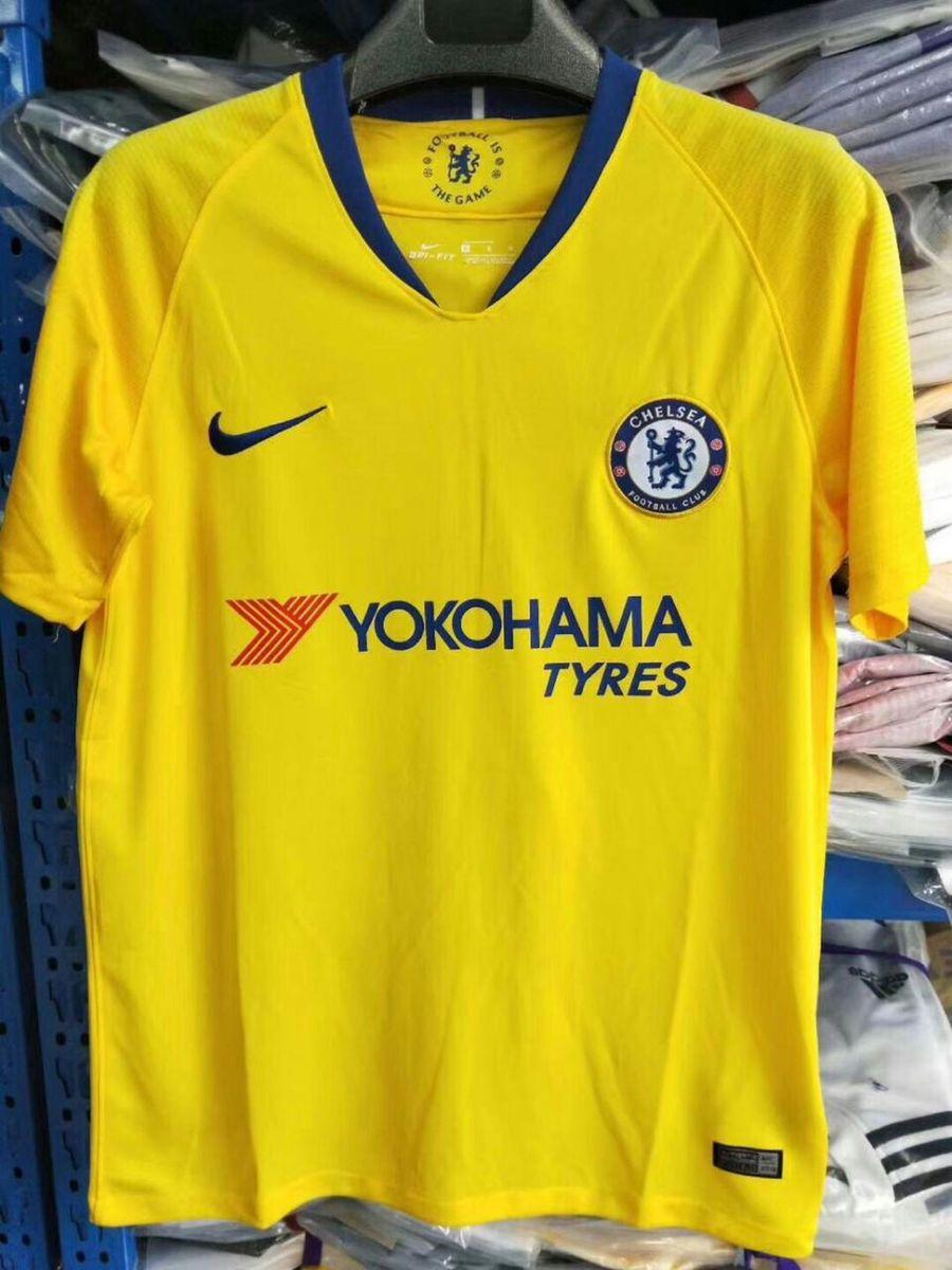 camisa do chelsea amarela original importada pronta entrega - esportes nike f45816f821678