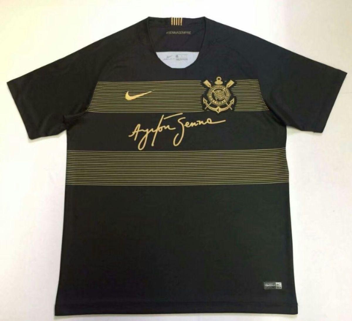camisa do corinthians ayrton senna importada pronta entrega - esportes nike 14c54d3d8b5ae