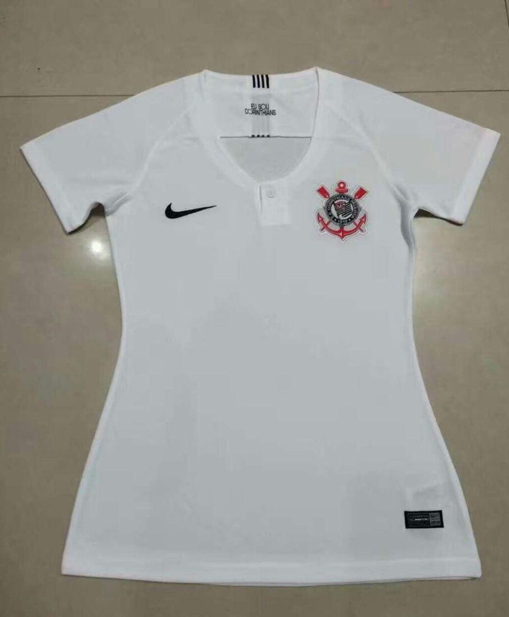d6ef72567 camisa do corinthians feminina branca original pronta entrega - camisas nike