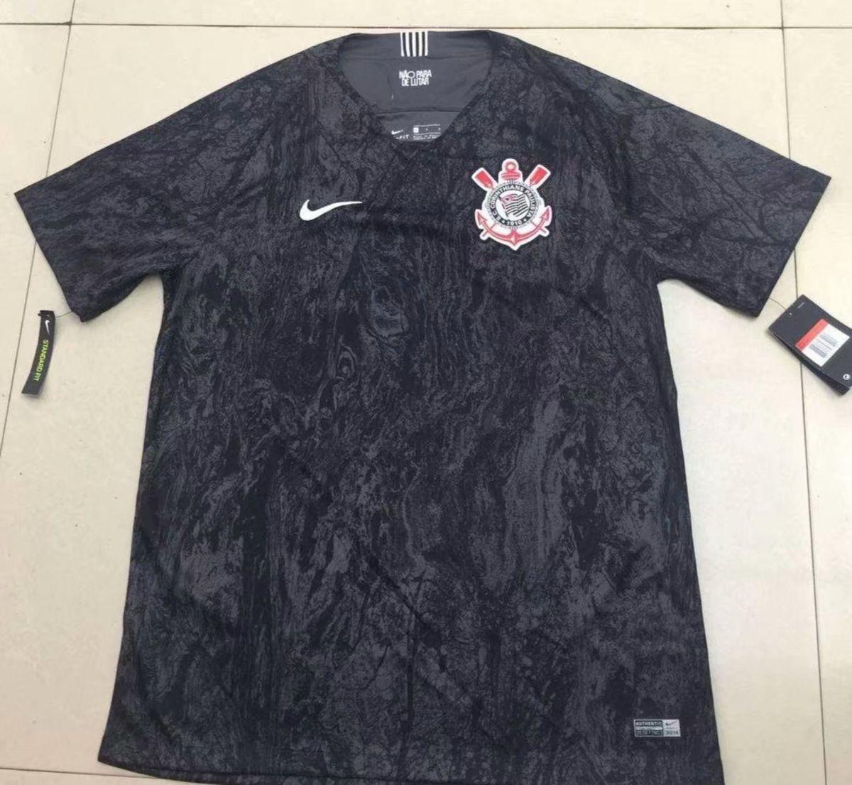 camisa do corinthians preta importada pronta entrega - esportes nike bdfbf1650c9ad