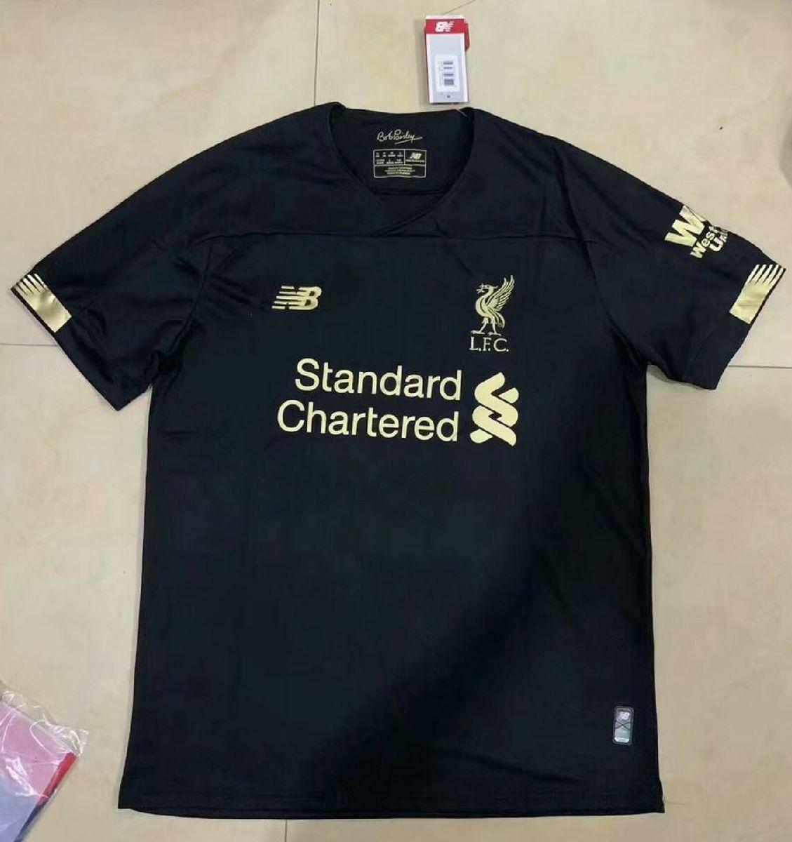 Camisa Do Liverpool 2019 Preta Importada Pronta Entrega Roupa Esportiva Masculino New Balance Nunca Usado 34267219 Enjoei