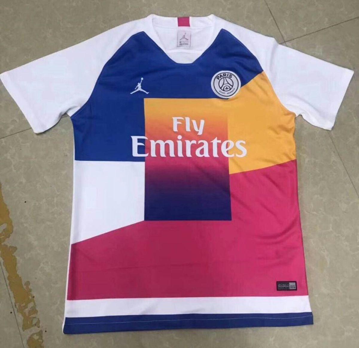 eaa702d2815 camisa do psg jordan colorida importada pronta entrega - esportes nike  jordan
