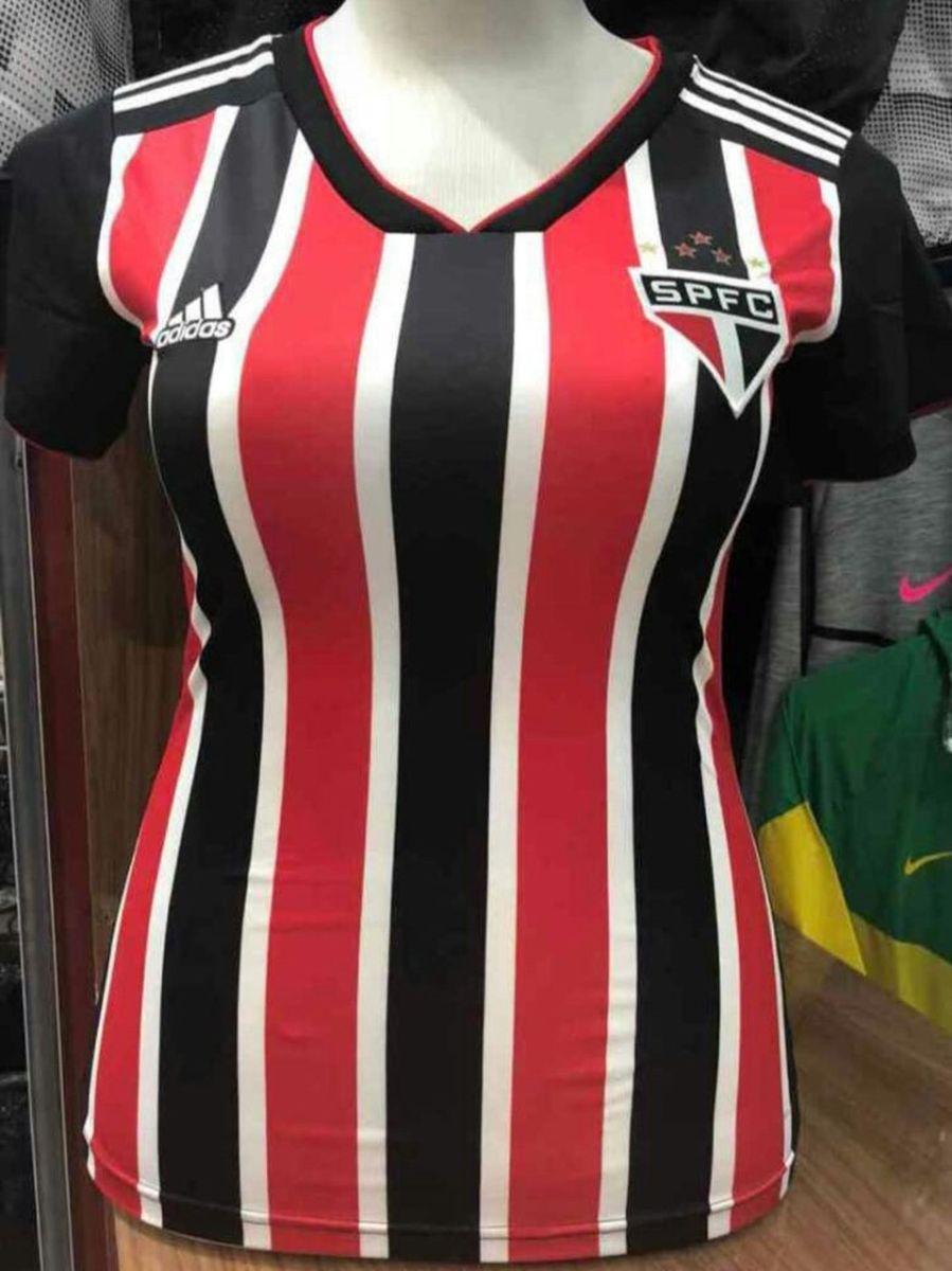 51cf0bc1cd camisa do são paulo feminina importada pronta entrega - camisas adidas