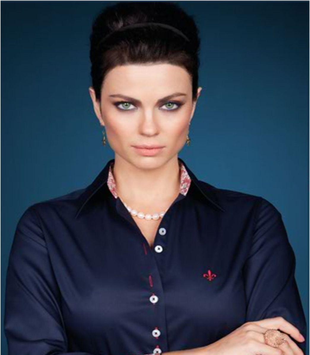 7b4fc18aed camisa dudalina original preta - camisas dudalina