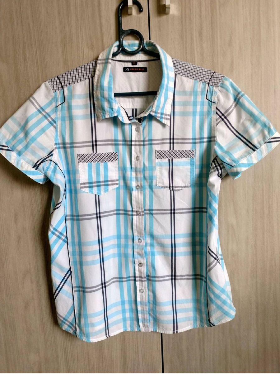 camisa fashion. - camisas blue-pacific
