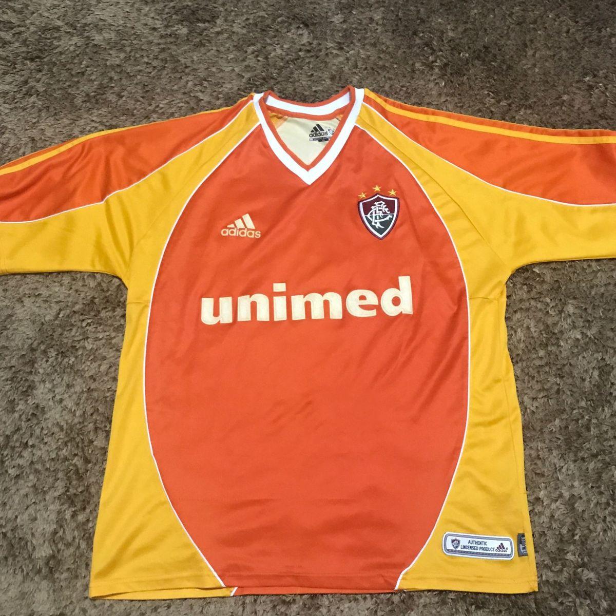 camisa fluminense centenário 2002 gg - esportes adidas 101b22b196a9c