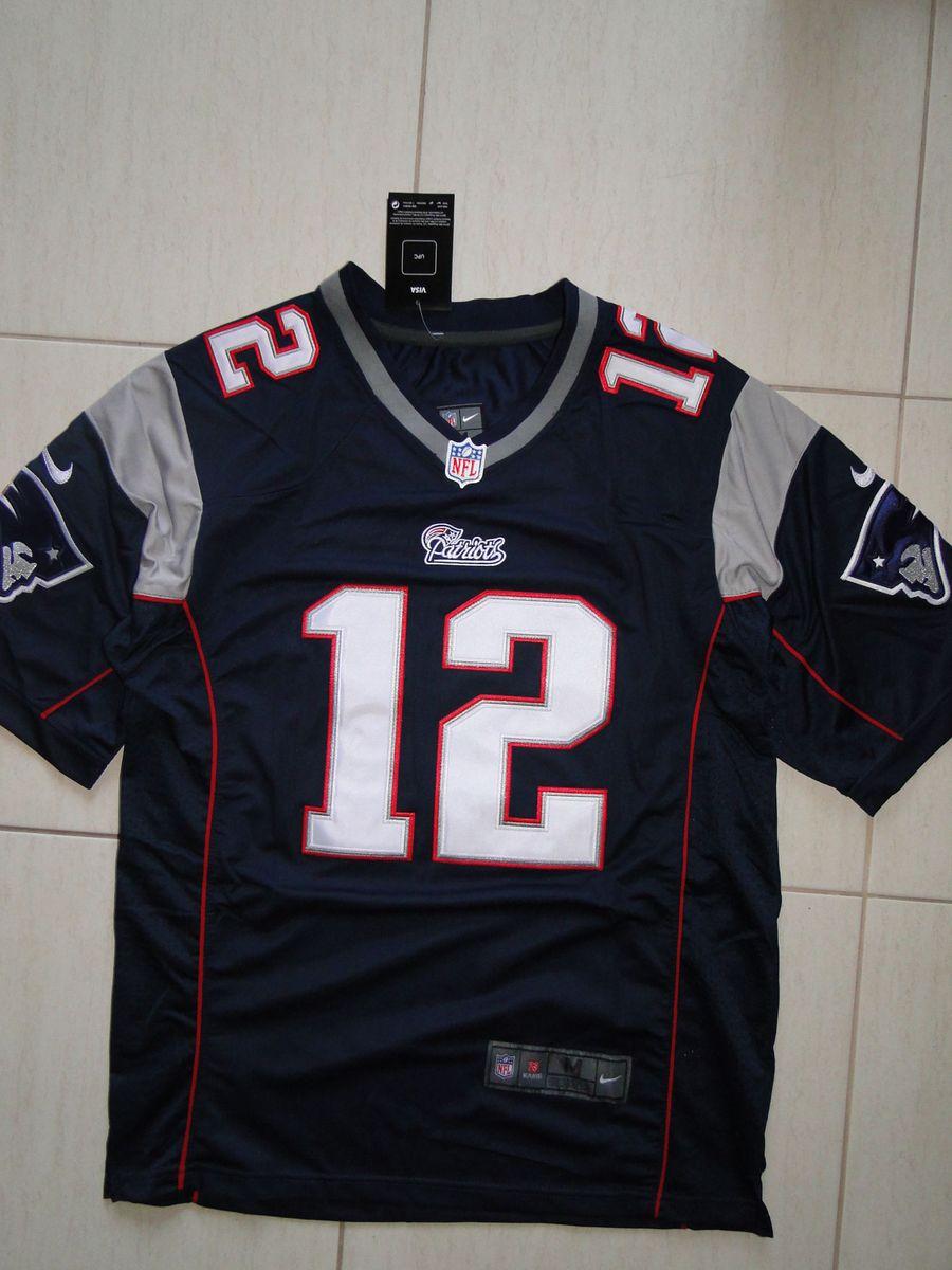 8265ce030c camisa futebol americano nfl tom brady new england patriots - esportes nike