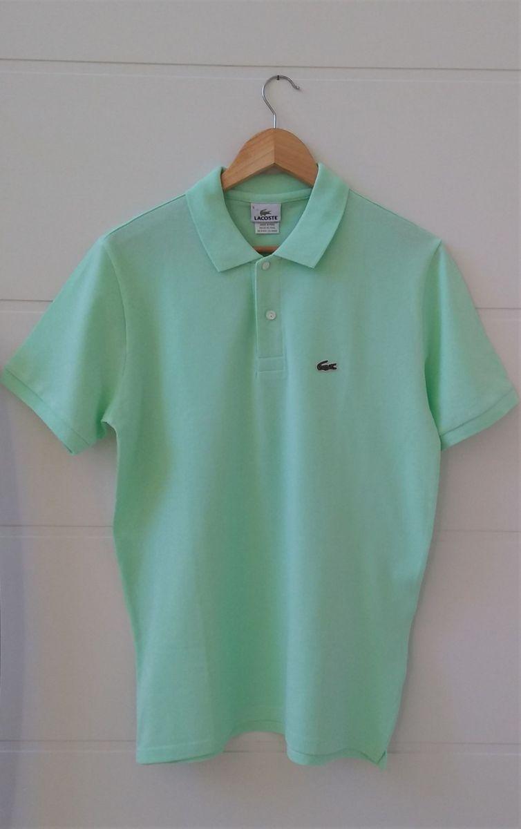 Camisa Gola Polo - Lacoste - Tam.5 (42)   Camisa Masculina Lacoste ... 7a5d48e2e4
