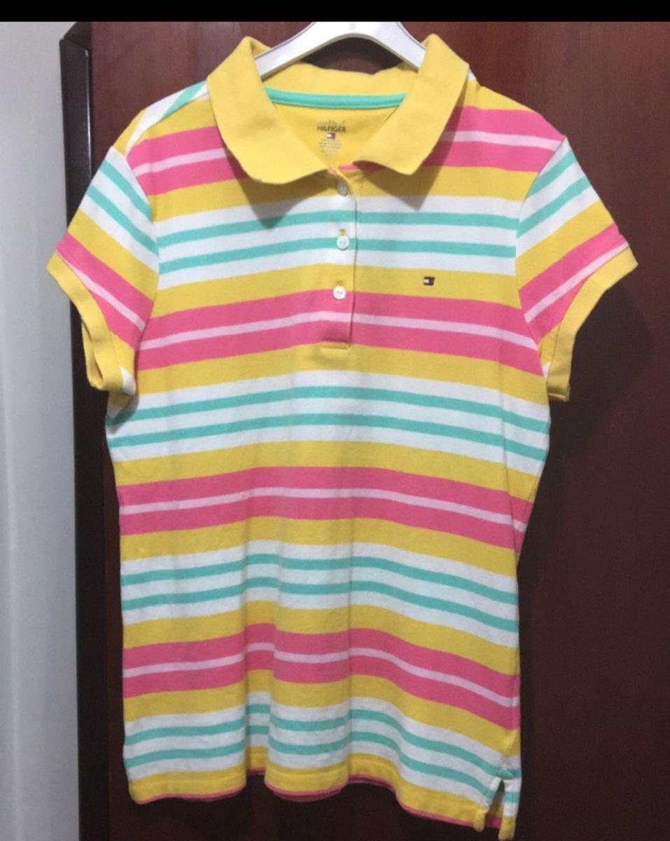 Camisa Gola Polo Tommy Hilfiger 1f17eaa07fe5e