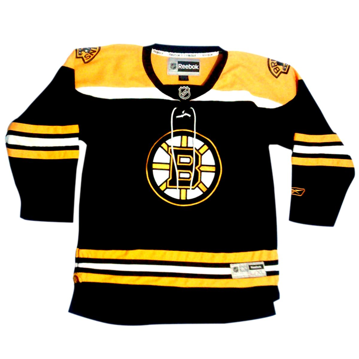 camisa hockey boston bruins 100% original - esportes rebook a4e2ca690a4d0