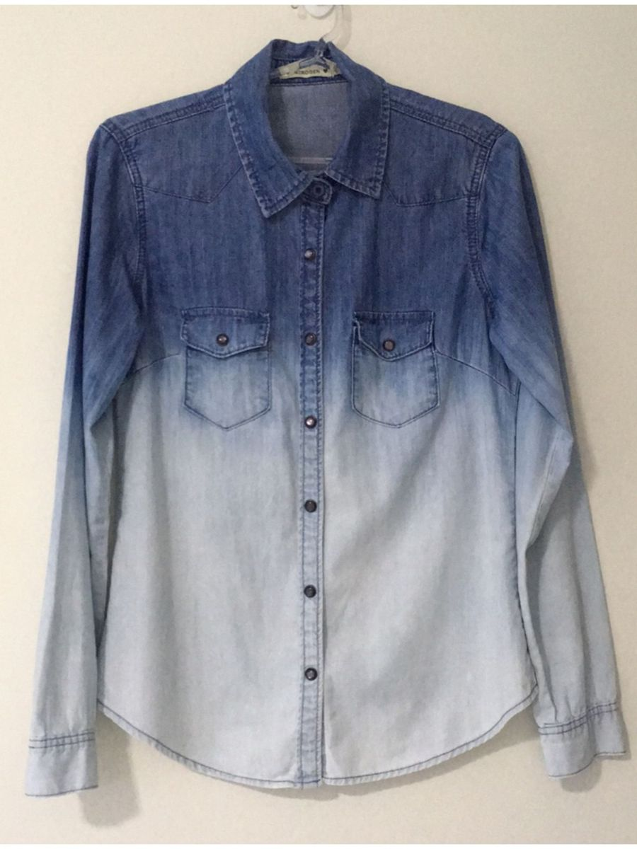 82177cb0f7 camisa jeans degradê - camisas nitrogen.  Czm6ly9wag90b3muzw5qb2vplmnvbs5ici9wcm9kdwn0cy83mzyzodu5lzrkzmy4yzc4zdu5ngu0mmi1odu2ntzmmwyzmgvmymfilmpwzw