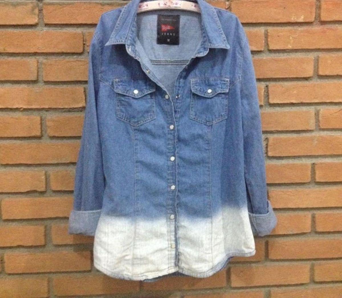 Camisa Jeans  0bbc3ffd359d8