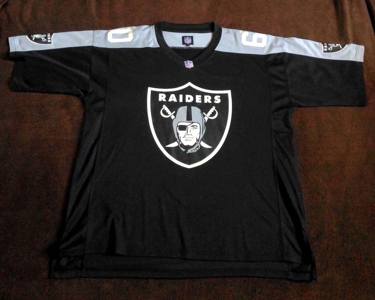 camisa jersey nfl raiders original - camisetas nfl eab78309626e6
