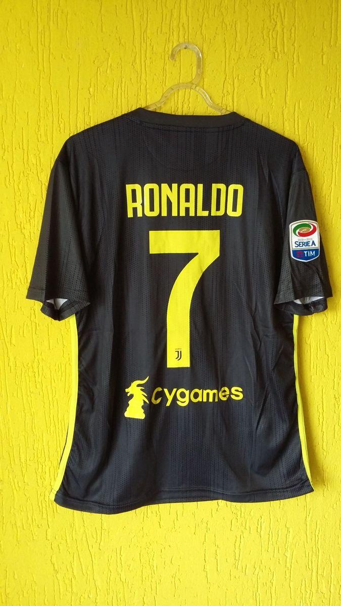 03921255f8 camisa juventus 2018 2019 - adidas - 7 ronaldo - esportes adidas