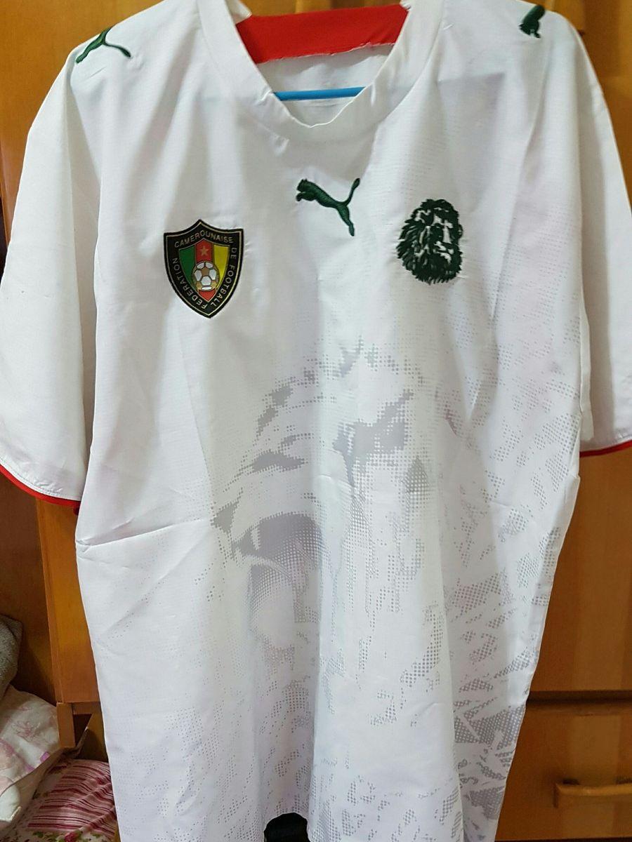 camisa linda da seleção de camarões - esportes puma 6a3344a2e99c3