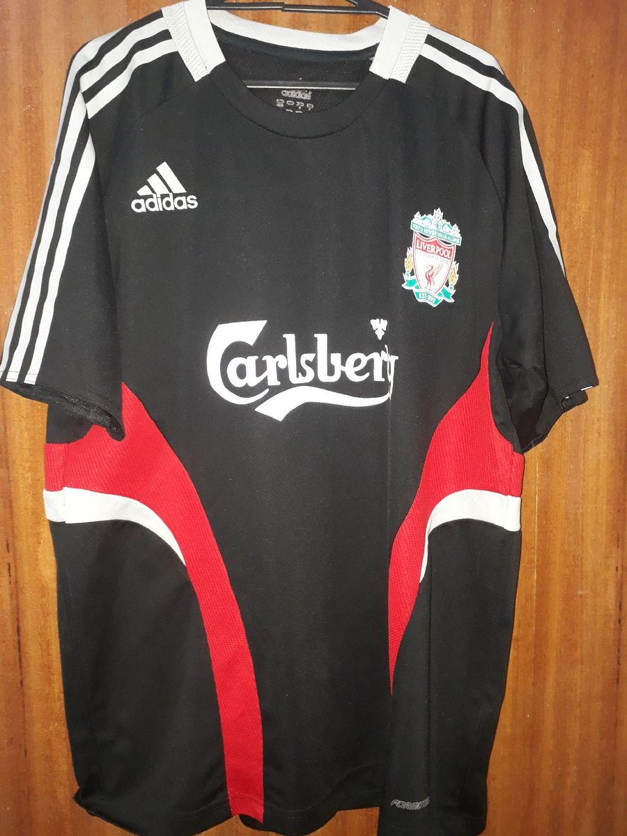 Camisa Liverpool Preta 2006 Camisa Masculina Adidas Usado 44664341 Enjoei