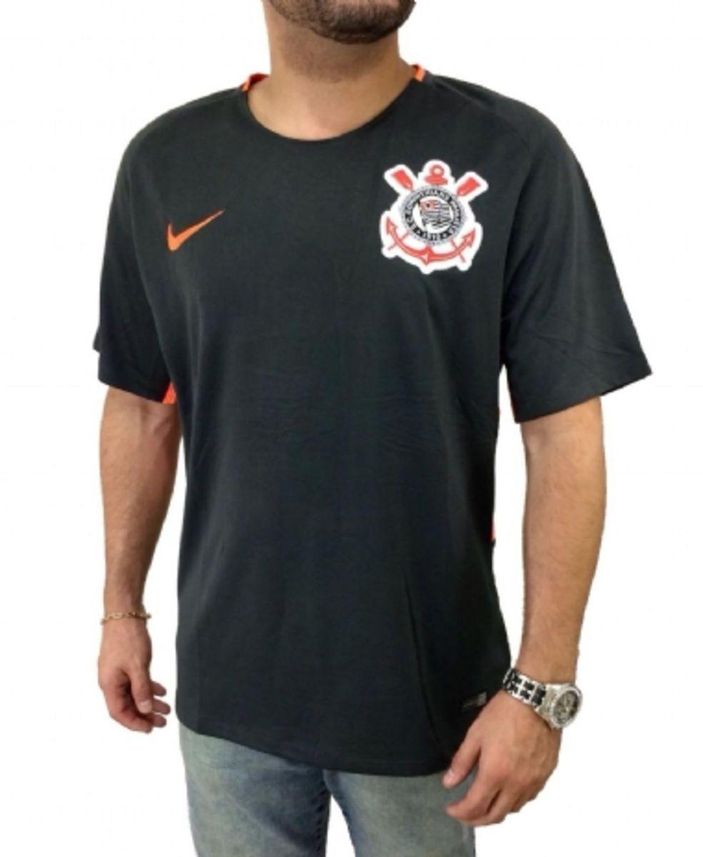 186f032eea ... Camisa M Corinthians 17 18 S n° - Torcedor Nike Masculina - Grafite .