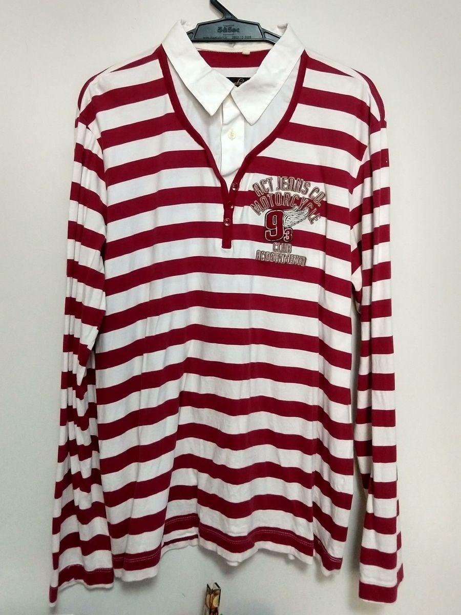 b4297bb0d6c Camisa Maga Longa