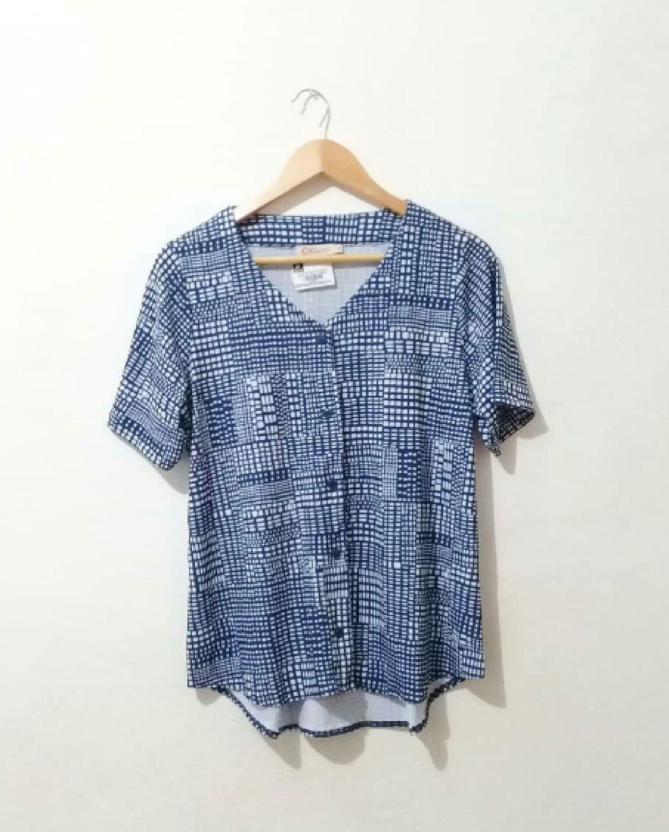 camisa manga curta - blusas criatiff