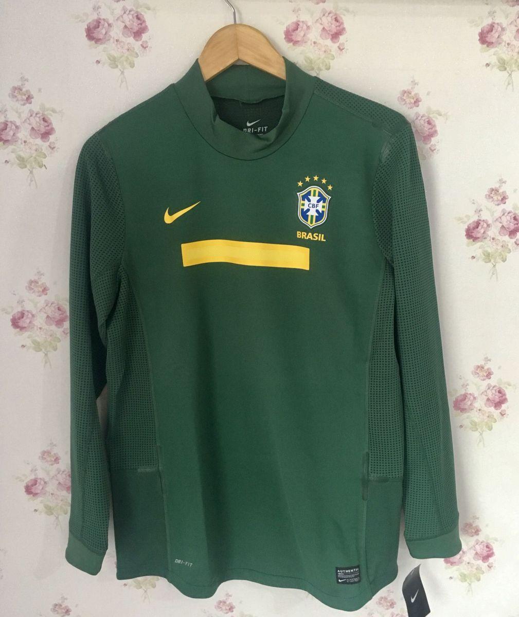 camisa manga longa seleção brasileira - esportes nike 6b7286d9ff3fe