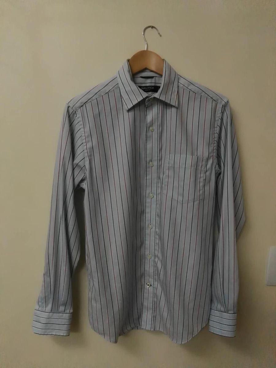 camisa nautica slim fit - camisas nautica
