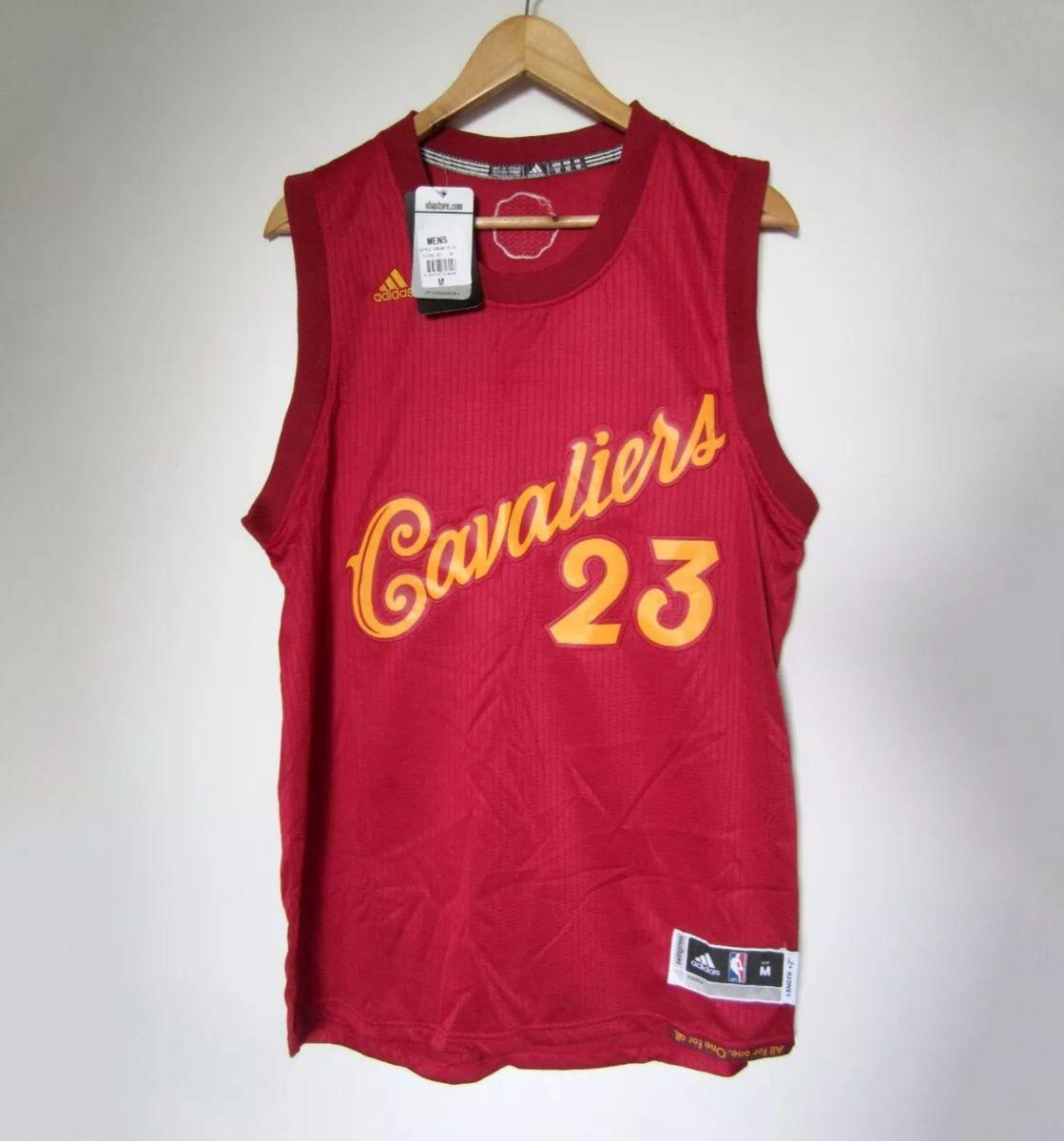 Motear Pirata Estación de policía  Camisa Nba Lebron James #23 Cleveland Cavaliers Natal Regata | Camisa  Masculina Adidas Nunca Usado 24282268 | enjoei