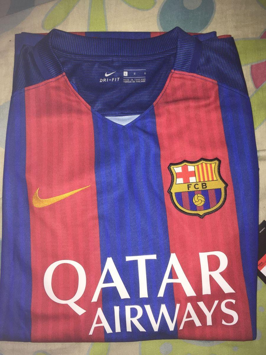 camisa nike barcelona torcedor 2016 17. - camisetas nike 29c96fabdb1c3