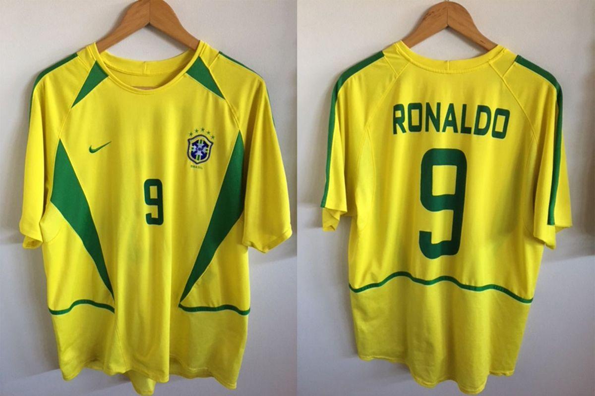 f38d64399e7e3 camisa nike brasil 2002 ronaldo fênomeno - esportes nike