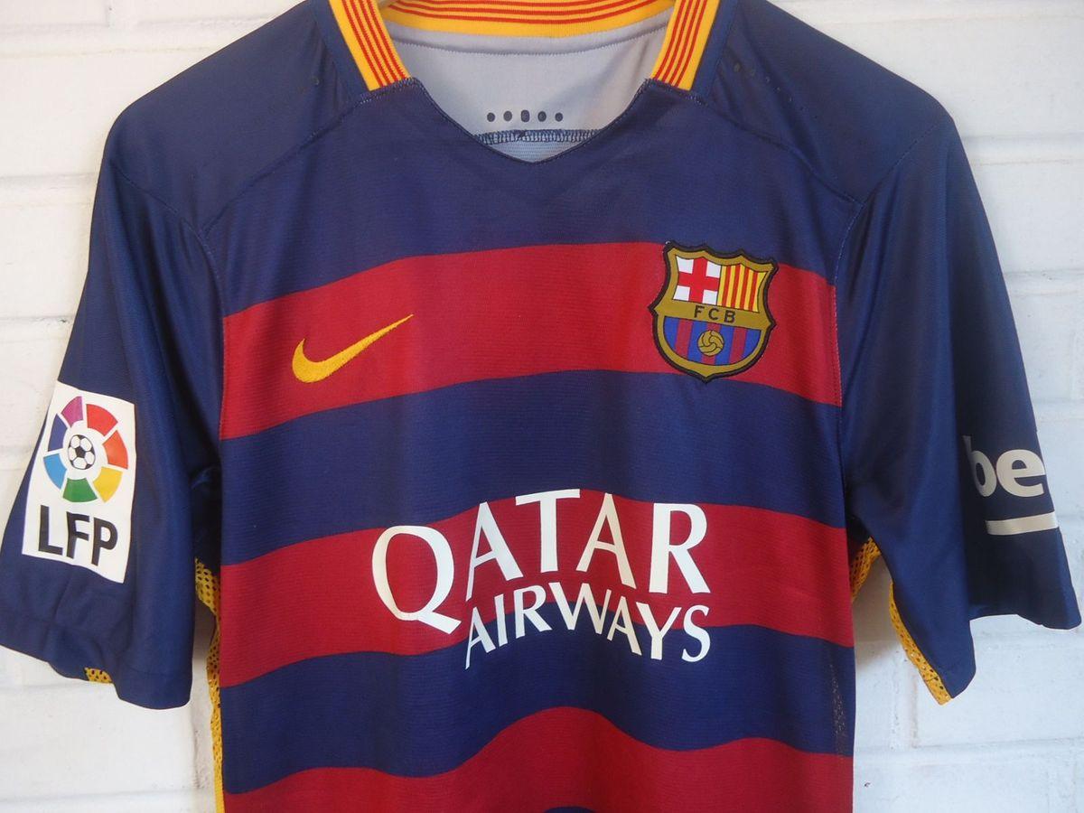camisa nike oficial barcelona neymar jr - 2015 2016 - camisas nike 2bb200cb654f6