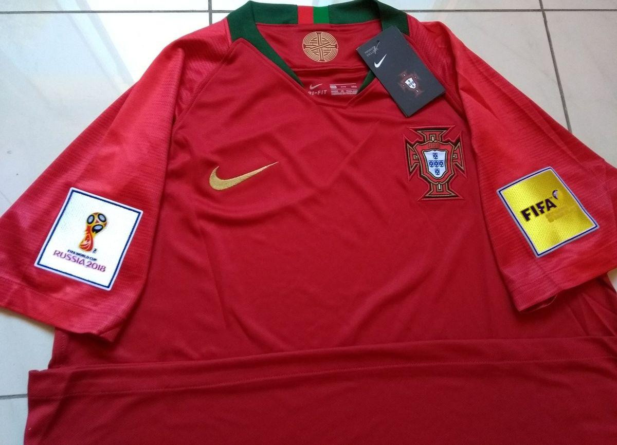 camisa nike portugal original 2018 home copa do mundo russia - camisas nike 1133528de38b1