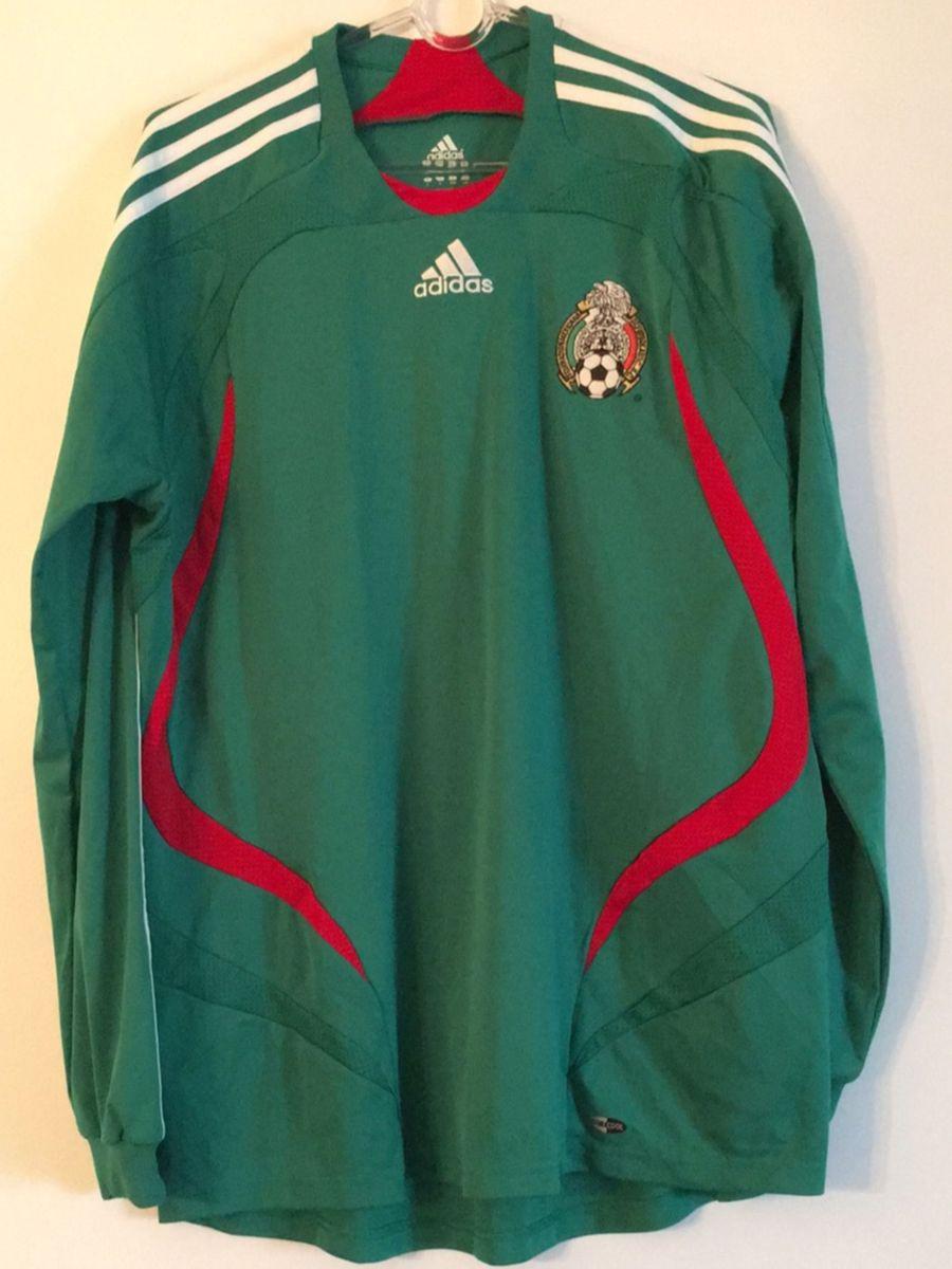 809ef4b059 camisa oficial adidas manga seleção mexicana - camisetas adidas