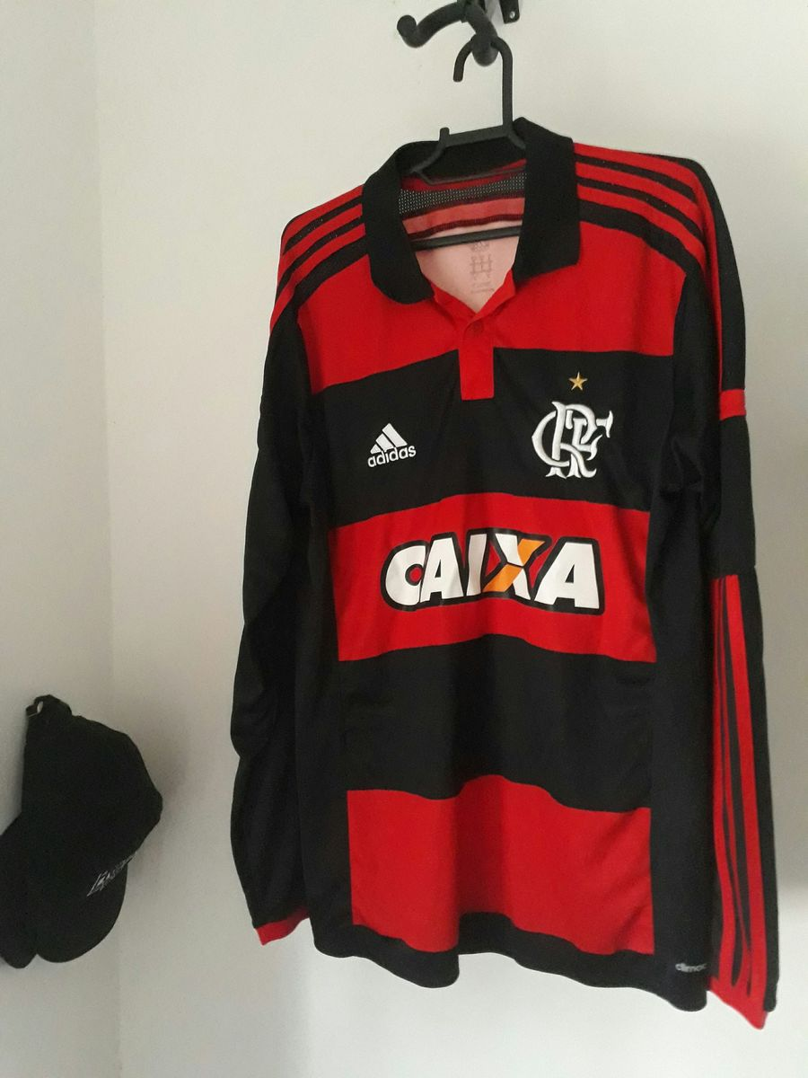 26c676f85c camisa oficial flamengo manga longa adidas - camisas adidas