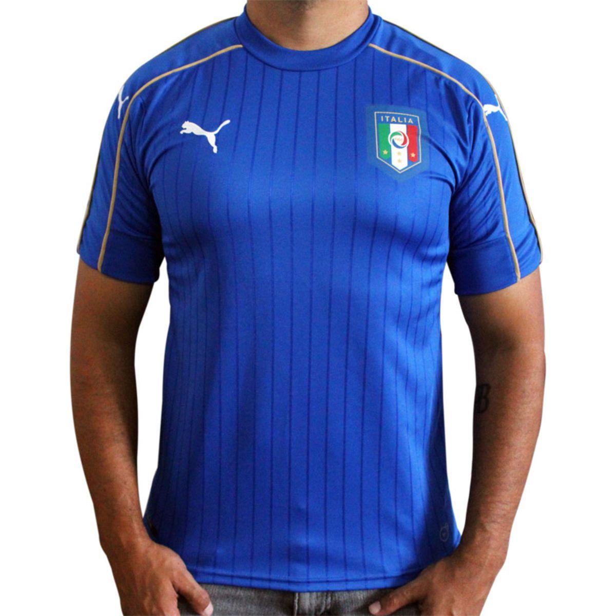 camisa oficial italia 2016 tamanho p - esportes puma bdc52ccf50770