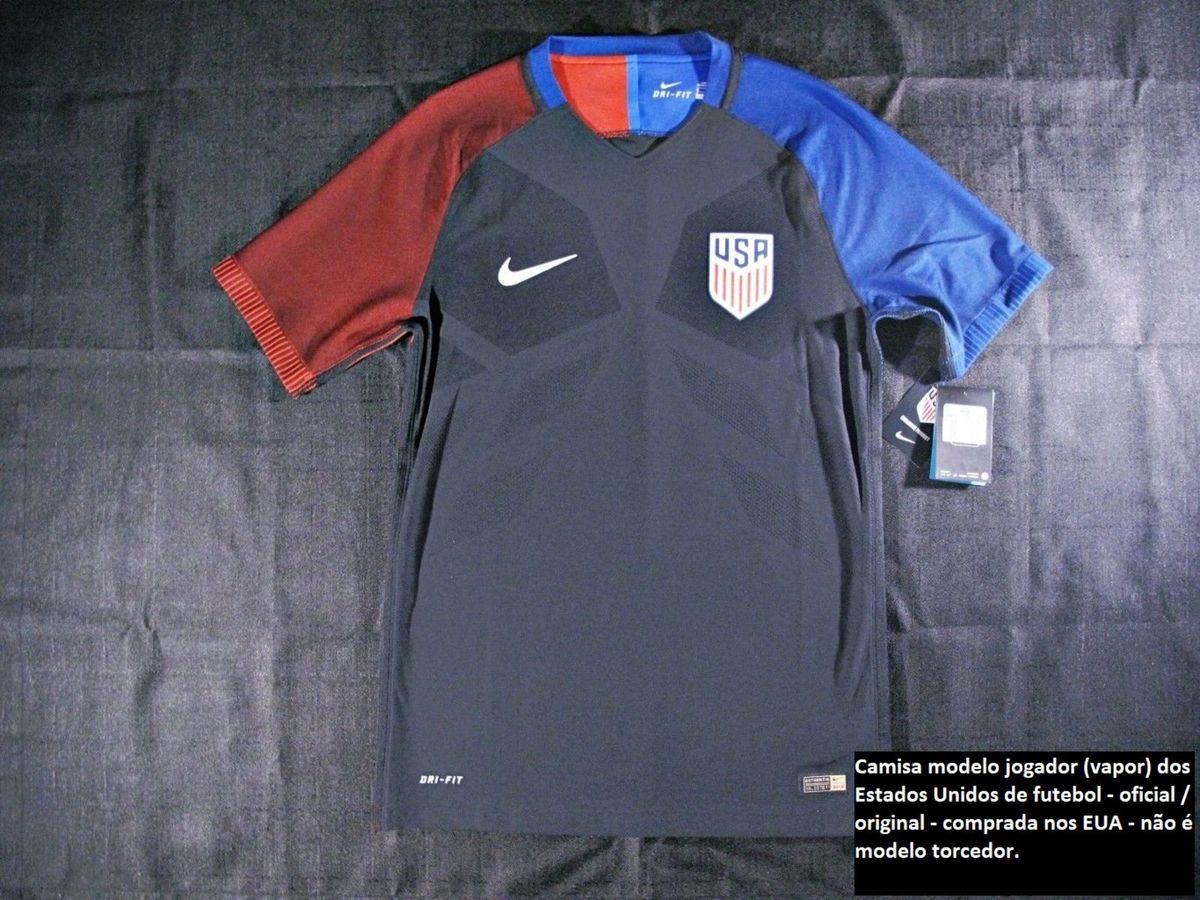 062b8fcf084a9 camisa oficial nike da seleção americana estados unidos de futebol modelo  jogador - camisas nike