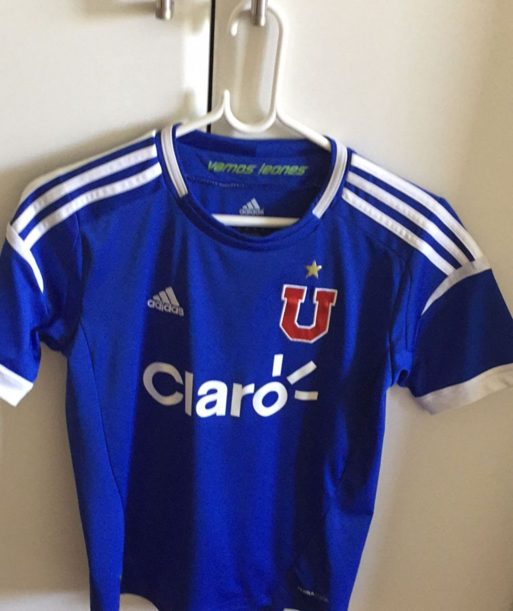 1b9c4115fb camisa oficial universidade do chile - menino adidas