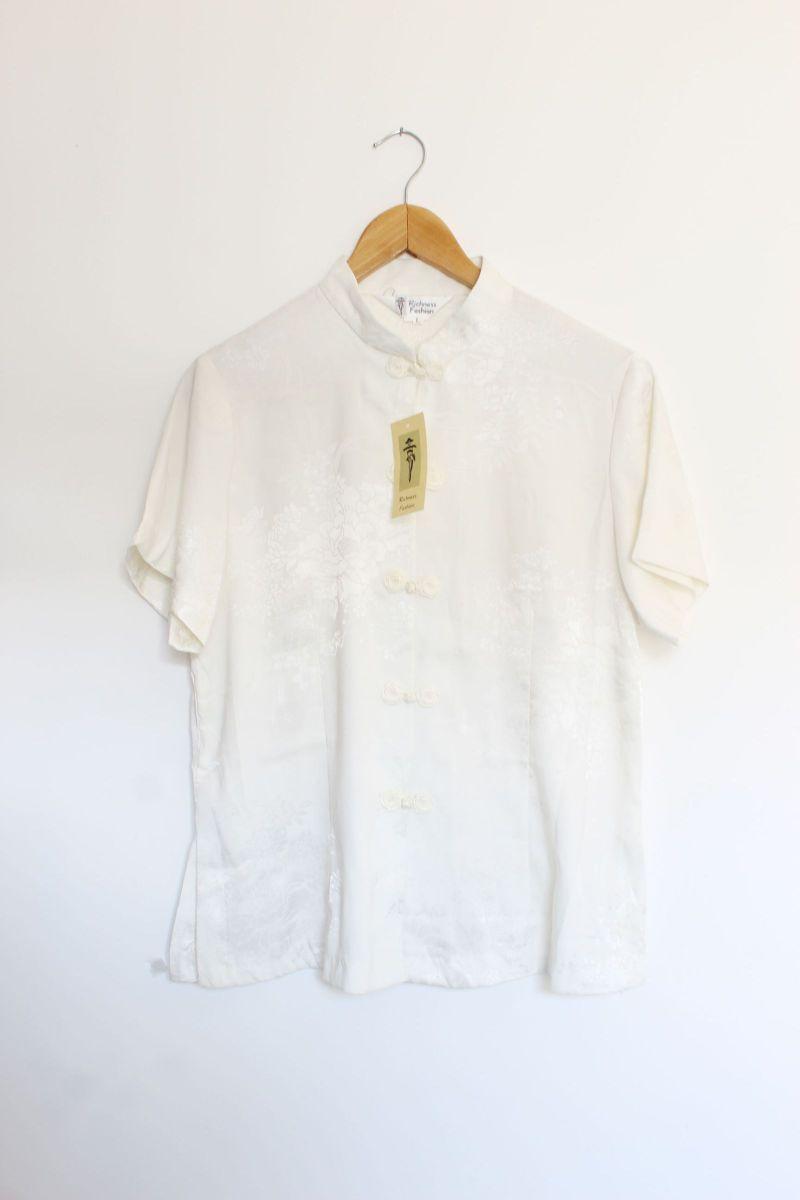 camisa oriental china - camisas richness fashion