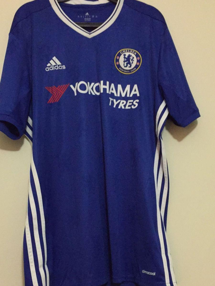 camisa original chelsea autografada - esportes adidas 61238b53f9ab1
