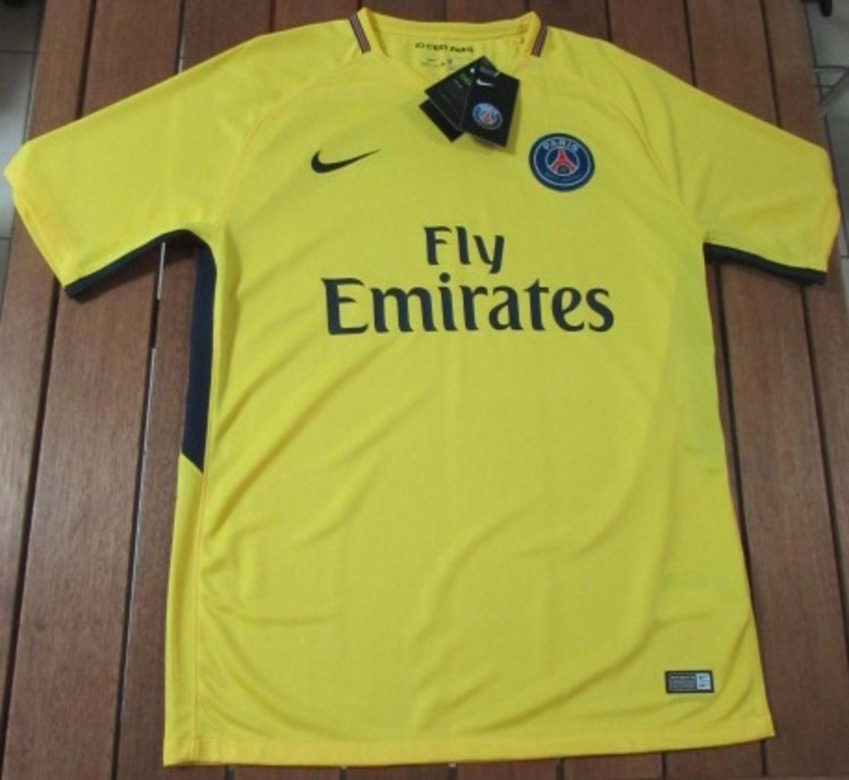 4d18cd46032df camisa paris saint germain 17 18 versão torcedor - esportes nike