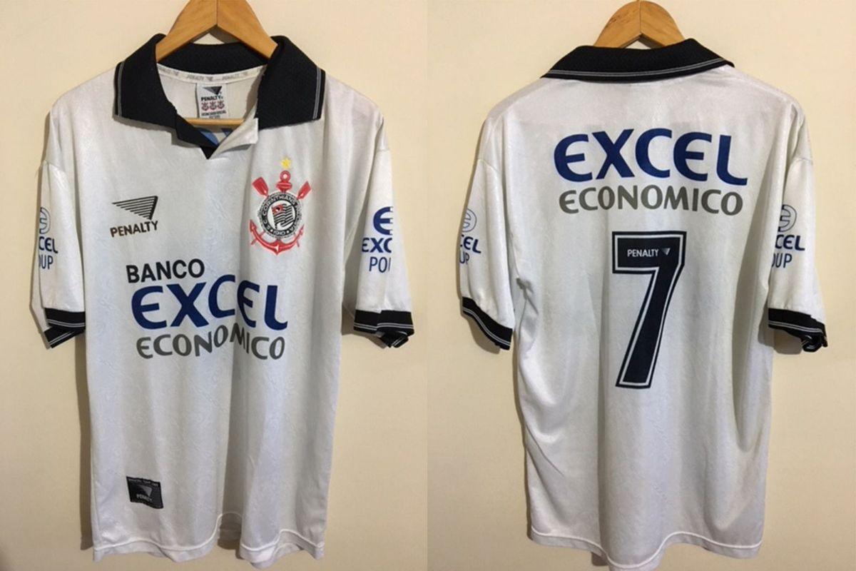 camisa penalty excel econômico corinthians 1997 - esportes penalty e297f07bfcae7