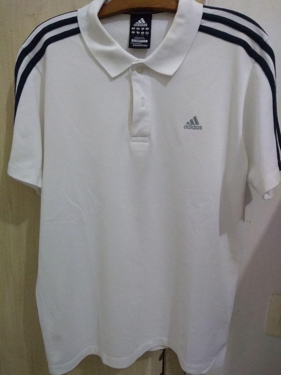 f8f224804d camisa polo adidas linha clima 365 performance essentials branca - camisas  adidas