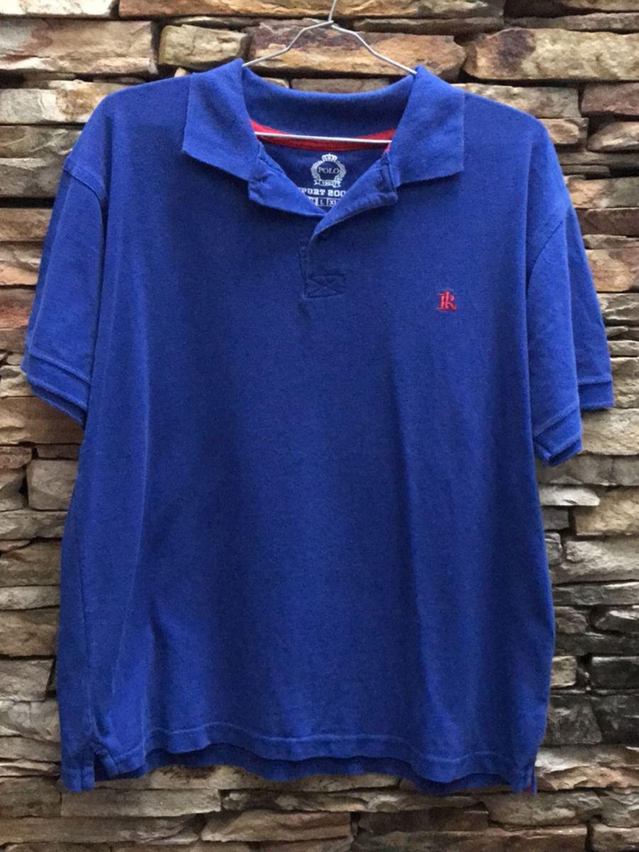 Camisa Polo, Azul Royal   Camisa Masculina Polo Ralph Lauren Usado ... 9180df7749