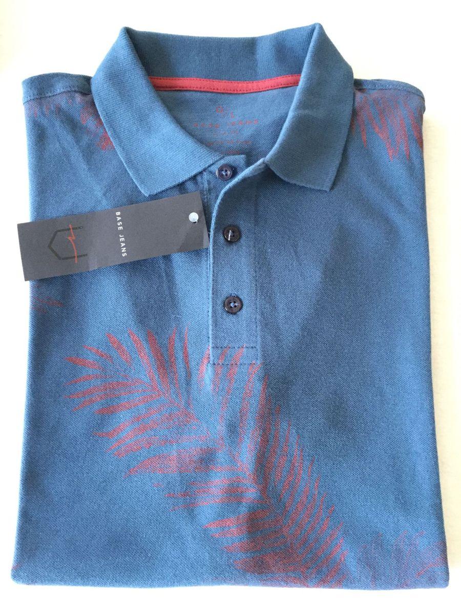 25438cb20d2ba camisa polo base dudalina g - camisas base-dudalina
