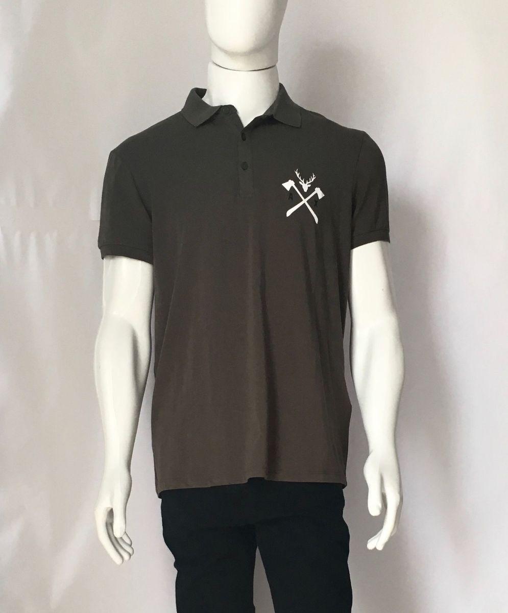 camisa polo camiseta armani exchange importada original usa - camisas  armani exchange 06c64df43838b