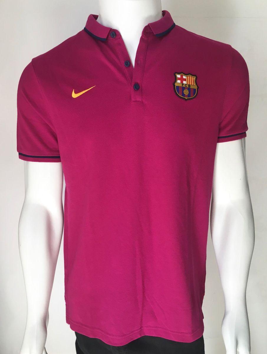 camisa polo camiseta nike barcelona neymar viagem - tam g - camisas nike c691f06186759
