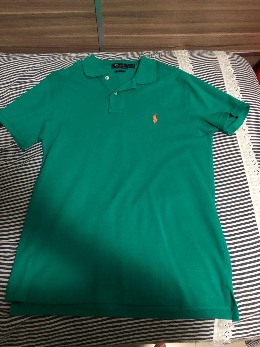 camisa polo da ralph lauren verde - camisas ralph lauren 399445b5ce71a