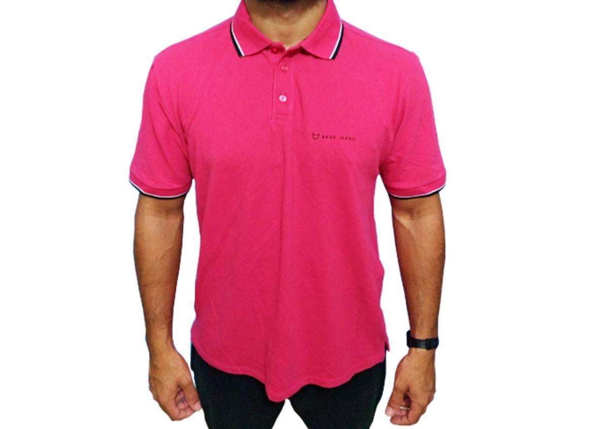 camisa polo dudalina base jeans - camisetas dudalina 24252e3cb8c21